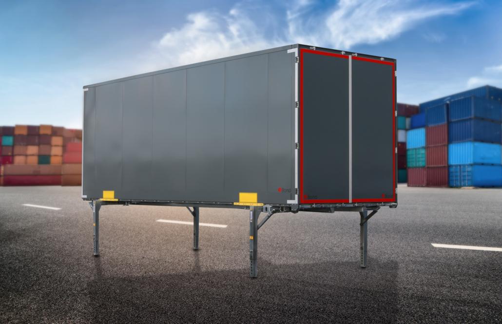 Stahlwechselkoffer XB1212 - robust, wirtschaftlich, leicht