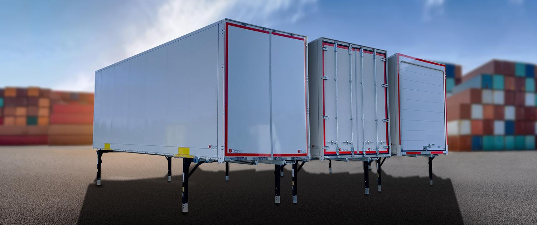 Stahlwechselkoffer - Wechselaufbau